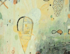 Sea Song Metamorphisis - Original mixed media on canvas - 72 x 96 in.
