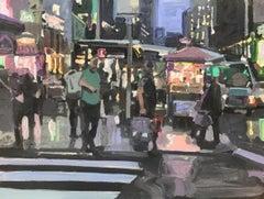 """City Cruising"", Oil Painting"