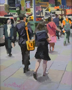 """""""City Pattern"""", Oil Painting"""