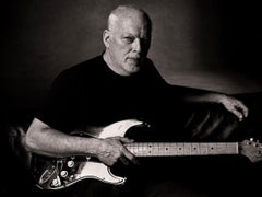David Gilmour - Signed Limited Edition Oversized Print