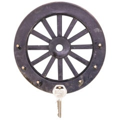 Key Holder in a Style of a Wheel by Walter Bosse, circa 1950s