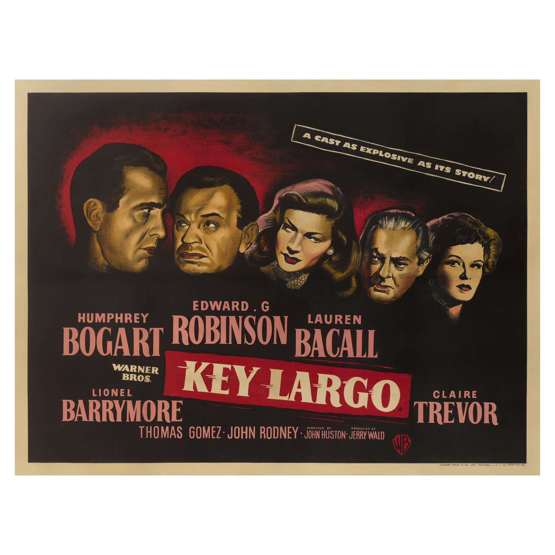 """""""Key Largo"""" Film Poster"""