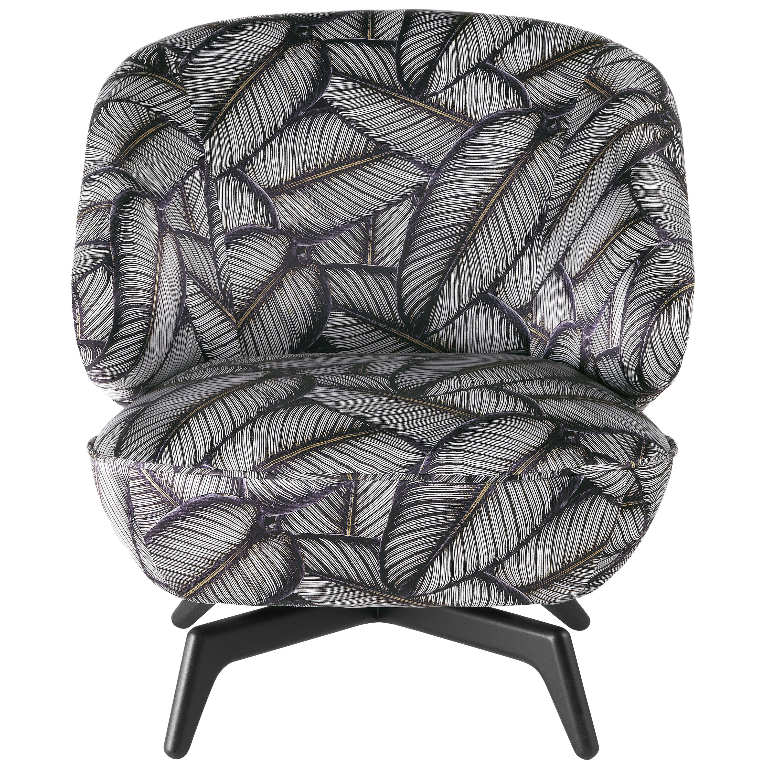 Key West Armchair in Silk by Roberto Cavalli Home Interiors