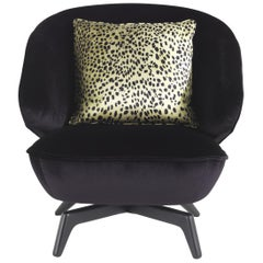 Key West Armchair in Fabric by Roberto Cavalli Home Interiors