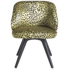 Key West Chair in Fabric and Wood by Roberto Cavalli Home Interiors