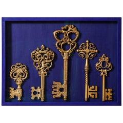 Keys of Saint Peter, Resin and Zamac, 1950s