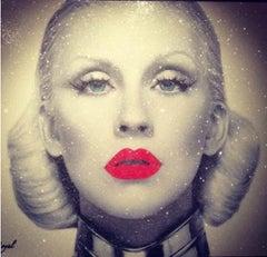 Christina Aguilera Red Lips