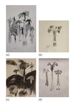 """Untitled, Watercolour on Paper (Set of 4 works) by Modern Artist """"In Stock"""""""