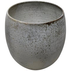 KH Würtz Curvaceous Bell Shaped Planter in Fawn Glaze