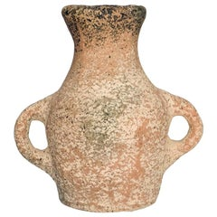 Khabia Freckles Terracotta Jar Made of Clay, Handcrafted by the Potter Raja