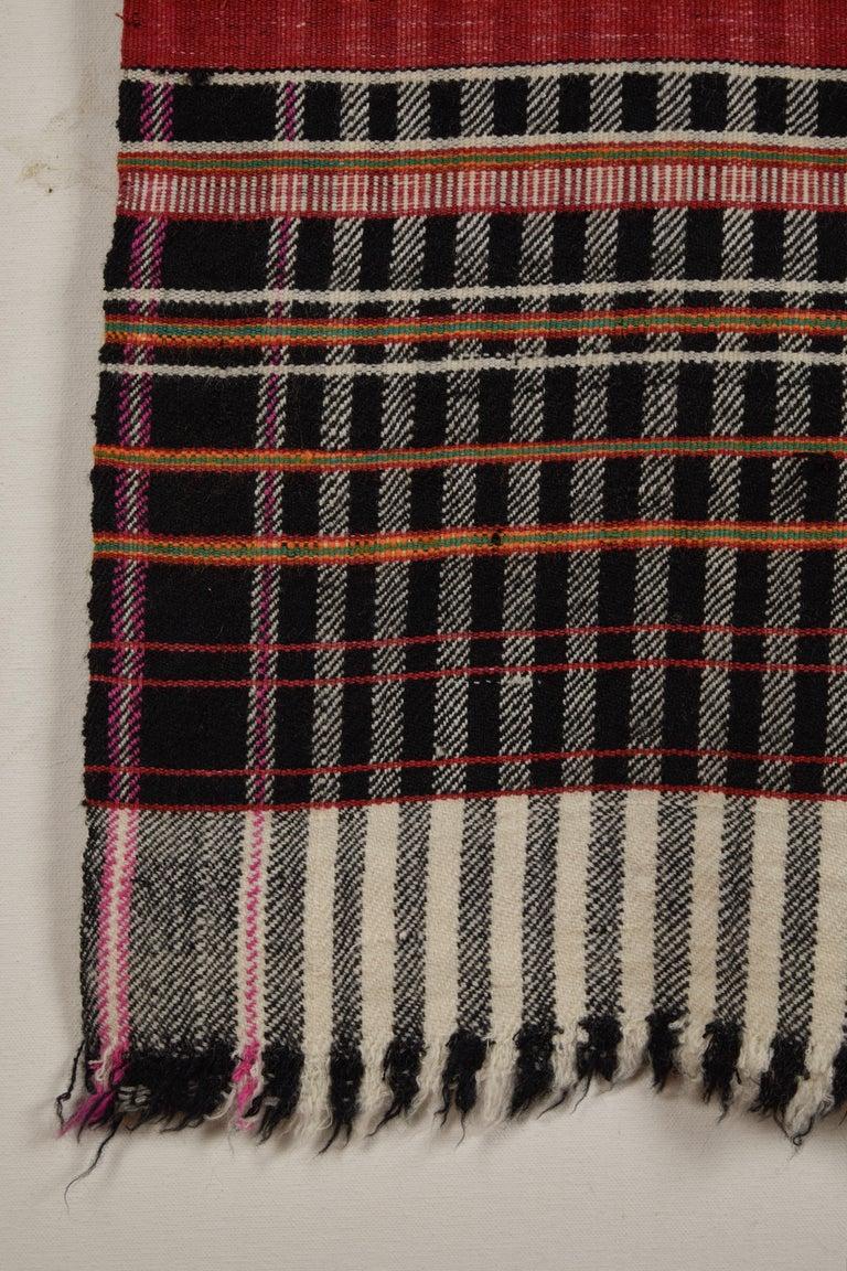 Woven Khadi Wool Blanket For Sale