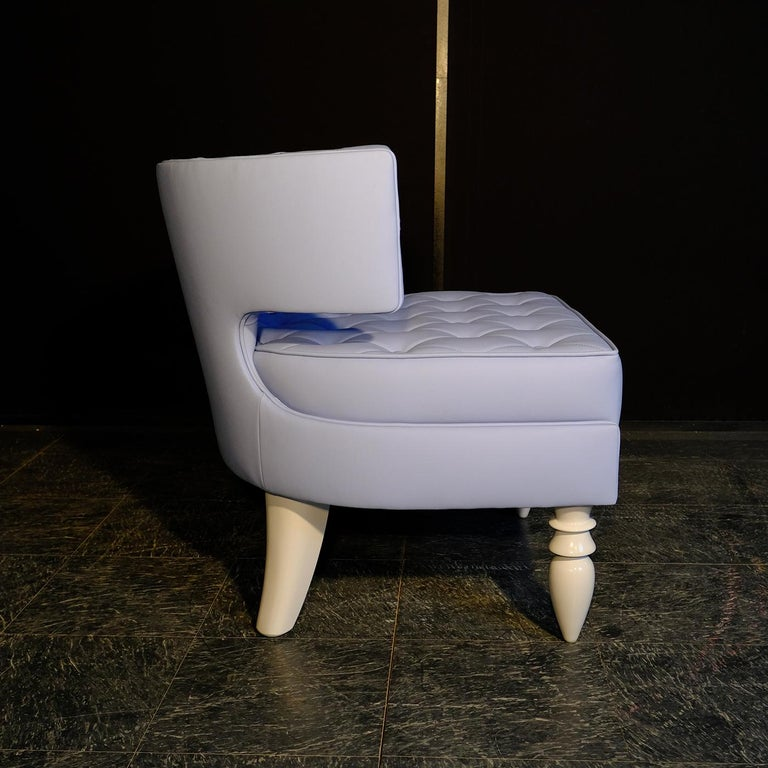 Khaktus Light Blue Armchair In New Condition For Sale In Milan, IT