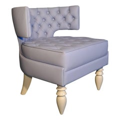 Khaktus Light Blue Armchair