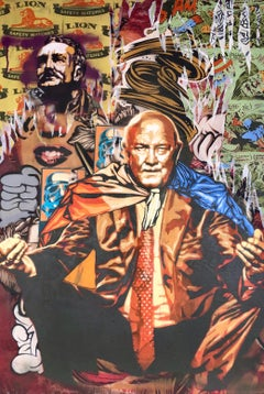 Captain de Klerk - Colorful, Edgy Pop Art Meets Street Art, Original Painting