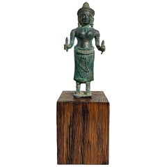 Khmer Bronze Uma, Angkor Wat Style, 12th Century, Cambodia