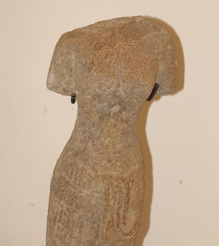 Cambodian Khmer Female Figure Statue, Cambodia, Contemporary For Sale