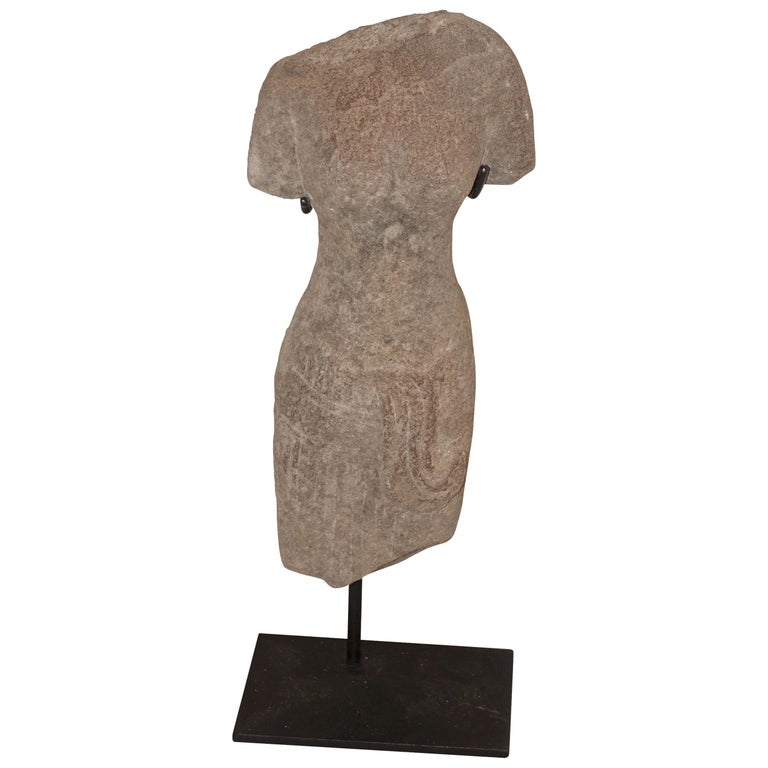 Khmer Female Figure Statue, Cambodia, Contemporary For Sale