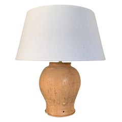 Khmer Vase Table Lamp