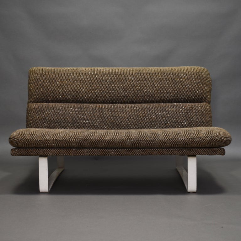 Mid-Century Modern Kho Liang Ie Two-Seat Sofa for Artifort, Netherlands, circa 1968