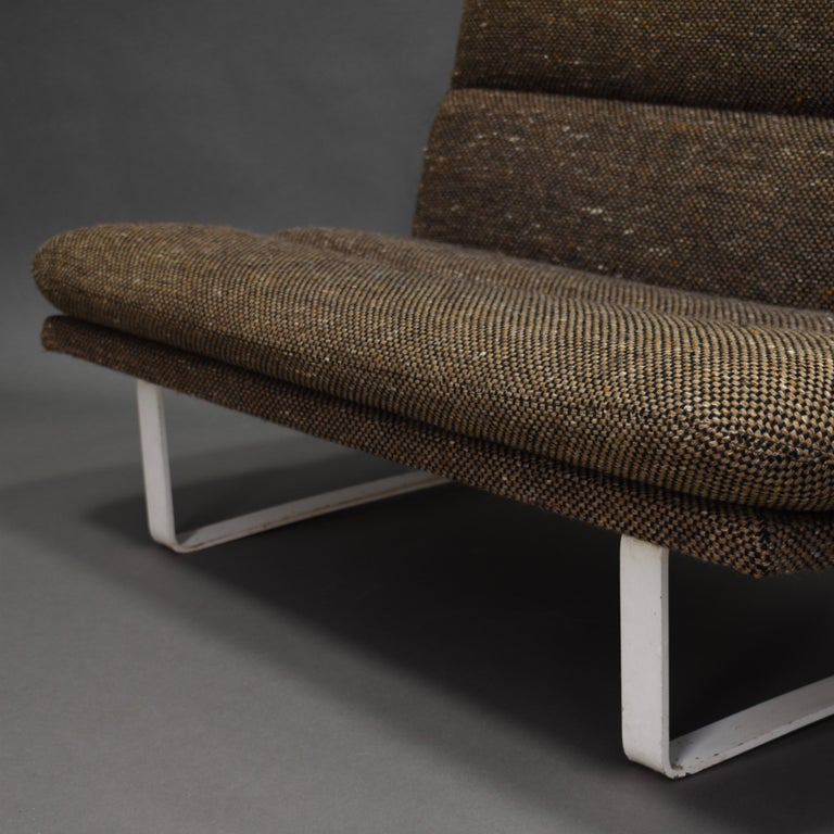 Kho Liang Ie Two-Seat Sofa for Artifort, Netherlands, circa 1968 In Good Condition In Pijnacker, Zuid-Holland