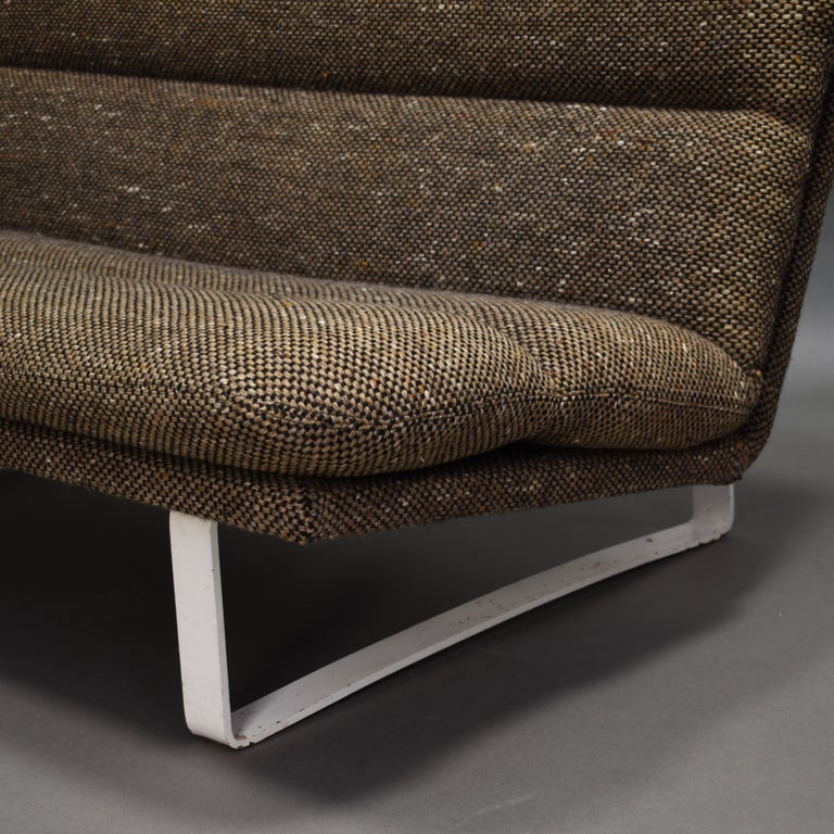 Mid-20th Century Kho Liang Ie Two-Seat Sofa for Artifort, Netherlands, circa 1968