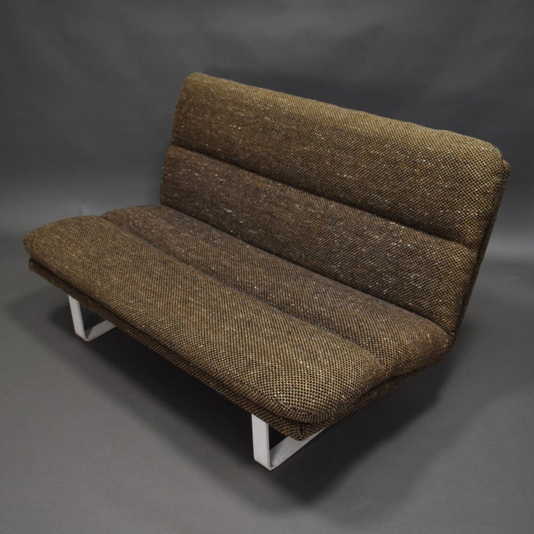Kho Liang Ie Two-Seat Sofa for Artifort, Netherlands, circa 1968 1