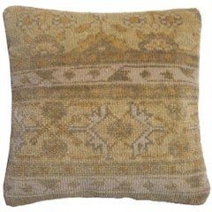 Khotan Samarkand Decorative Hand Knotted Rug Pillow Cover