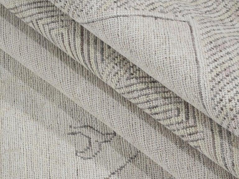 Hand-Knotted Khotan Samarkand Rug For Sale