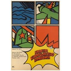 Khronika Pikiruyushchego Bombardirovshchika 1968 Polish A1 Film Poster