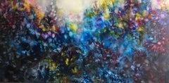 Fairytale Park, Painting, Oil on Canvas