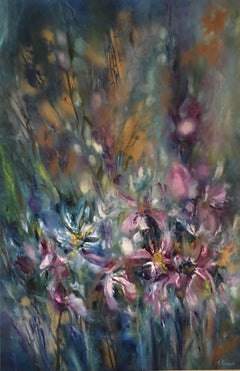 Verbena, Painting, Oil on Canvas