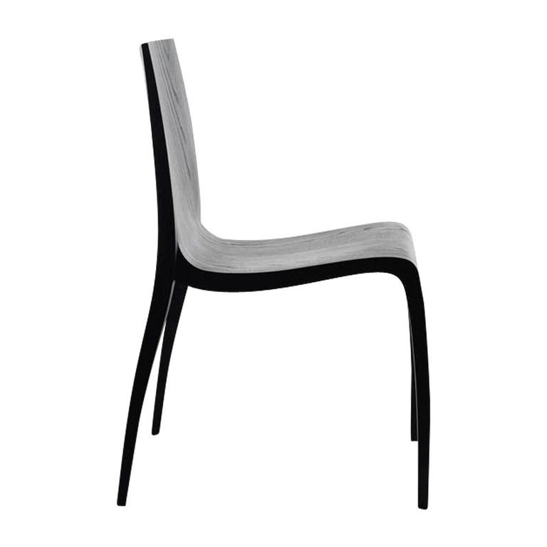 Ki Black Chair by Mario Bellini For Sale