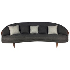 Kidney Shaped Adrian Pearsall for Craft Associates Sofa Model 2010s Perfect