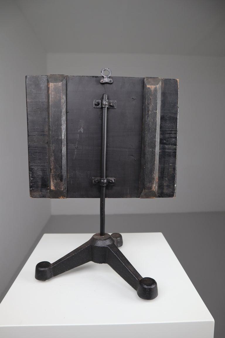 Kidneys Anatomical Model Wood and Plaster on Metal Base CZ, 1940s For Sale 4