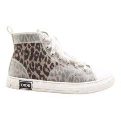 KIDS DESIGNER Dior B23 Leopard Print Kids