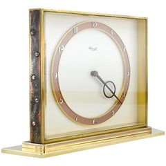 Kienzle German Midcentury Table Clock, 1950s