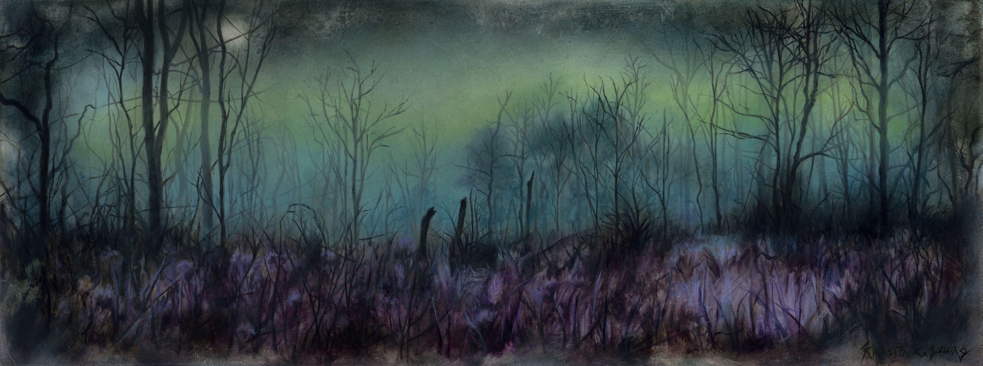 """Aurora"" Oil Painting"