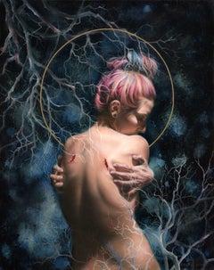"""""""Hamartia"""" Oil Painting"""