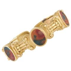 Kieselstein-Cord 18 Karat Yellow Gold Intaglio Bangle Bracelet