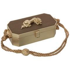 Kieselstein Cord Gold Dragon Box Bag, 1991
