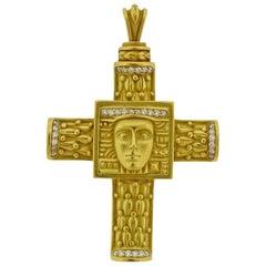 Kieselstein Cord Women of the World Diamond Gold Pendant