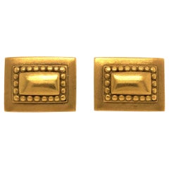 Kieselstein-Cord Yellow Gold Cuff Links