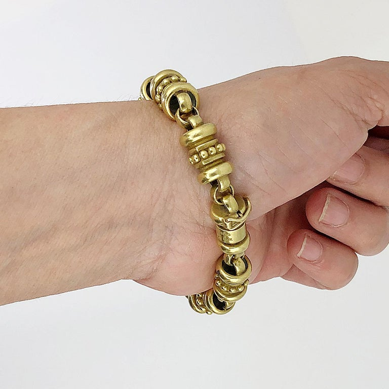 Kieselstein Gold Bracelet In Good Condition For Sale In New York, NY
