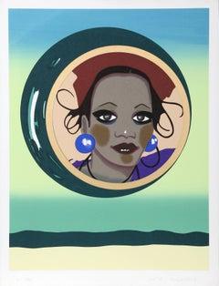 """Moondrop"" Feminist Fashion Print by Kiki Kogelnik"