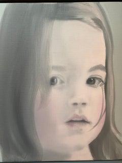 Dutch Girl Contemporary Portrait of a Child