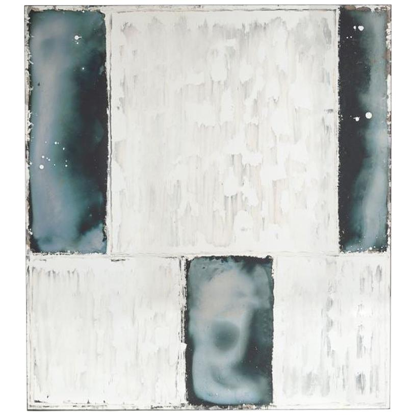 "Kiko Lopez, ""Domino,"" Églomisé Wall Mirror, France, 2018"