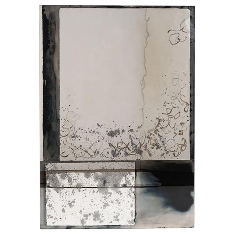 "Kiko Lopez, ""Elysium,"" Églomisé Wall Mirror, France, 2016 For Sale"