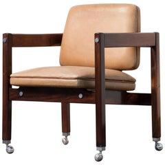 """Kiko"" Rosewood Armchair  by Sergio Rodrigues, 1960"
