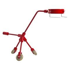 Kila Red Dog Desk Lamp by Harry Allen for Ikea