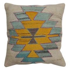 Kilim Medallion Turkish Pillow